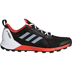 adidas TERREX Agravic Speed Shoes Men Core Black/Ftwr White/Hi-Res Red